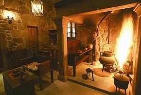 Casa grande da fervenza o corgo ib rica turismo - Chimeneas lugo ...