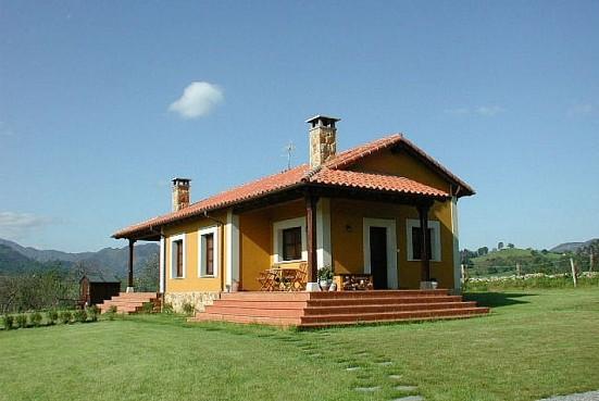 El llanon de san roman san roman pilo a ib rica turismo - Casas rurales prefabricadas ...
